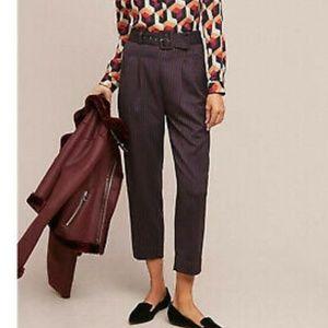⭕5/$25⭕Cartonnier Striped High Rise Trouser Pants